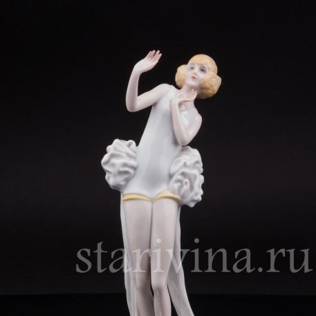 Статуэтка Janine, танцовщица в стиле ар деко, Rosenthal, Германия, 1932 г.